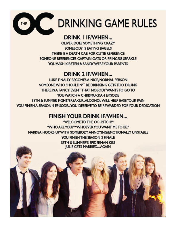 the-oc-drinking-game
